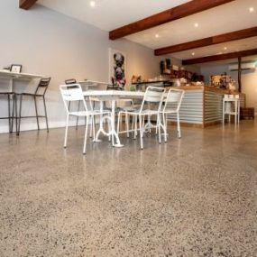 Interior Grind and Seal Polished Concrete Melbourne